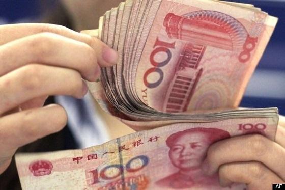 Chinese yuan neemt tweede plaats over van de euro