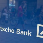 Grafiek: Deutsche Bank in de problemen