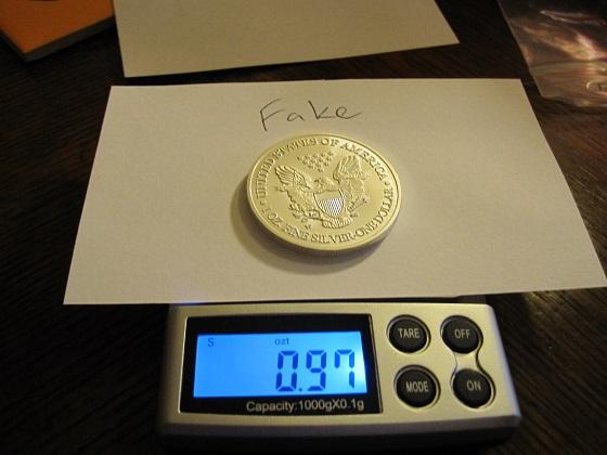 Vervalste Silver Eagle munten ontdekt - Marketupdate: marketupdate.nl/nieuws/goud-en-zilvermarkt/vervalste-silver-eagle...