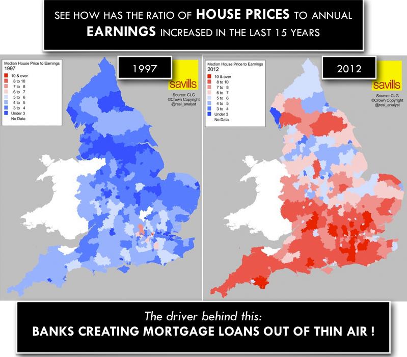 Huizenprijzen in het Verenigd Koninkrijk stijgen nog steeds