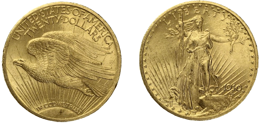 20-dollar-saint-gaudens-eagle-gold-gouden-munt