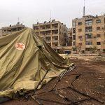Russisch noodhospitaal Aleppo gebombardeerd