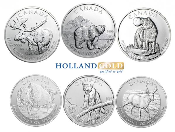 wildlife-serie-zilveren-munten