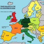 Handelsbalans Europese Unie in kaart gebracht