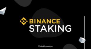 Binance staking crypto
