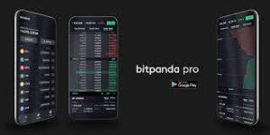 Bitpanda cryptocurrency applicatie